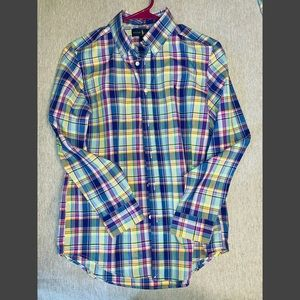 Big boys button down shirt